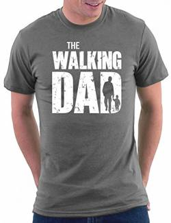 The Walking Dads T-shirt, Größe M, Darkgrey von Million Nation