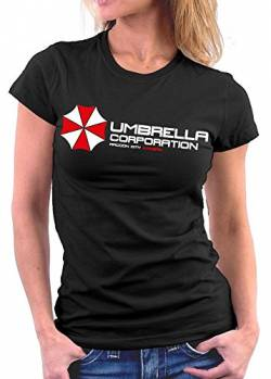 Umrella Resident Evil woman T-shirt, Größe XL, Schwarz von Million Nation