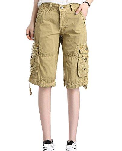 Zarupeng Beiläufige Kurze Hosen Cargo Shorts der Männer