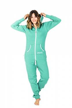 Moniz Damen Jumpsuit (XS, Mint) von Moniz