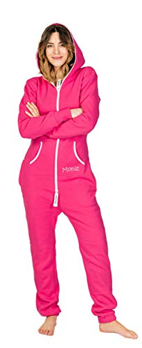 Moniz Damen Jumpsuit (XS, pink) von Moniz