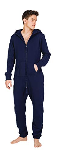 Moniz Herren Jumpsuit (XXL, Midnight Navy) von Moniz