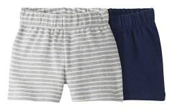 Moon and Back by Hanna Andersson 2 Pk Infant-and-Toddler-Shorts, Navy, 6-12 mos von Moon and Back by Hanna Andersson