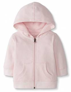 Moon and Back by Hanna Andersson Baby Kapuzen-Sweatshirt, rose, 0-3 Monate (46-56 CM) von Moon and Back by Hanna Andersson