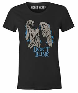 Don't Blink - Damen Dr Who T Shirt von More T Vicar