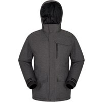 Comet Herren-Skijacke - Grau von Mountain Warehouse