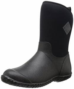 Muckster ll Mid-Height Women's Rubber Garden Boots, Black, 8 B US von Muck Boot