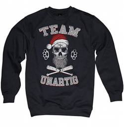 NG articlezz Team Santa Skull Pullover Weihnachtsmann Totenkopf Bad Merry Christmas Gr. S - 3XL von NG articlezz