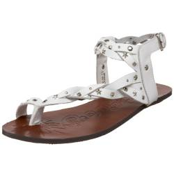 Naughty Monkey Damen Eco Girl Sandalen, Weiß (Weiß), 40.5 EU von Naughty Monkey