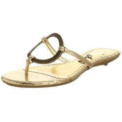 Naughty Monkey Damen Loop De Loop Sandalen, Gold (Gold), 37.5 EU von Naughty Monkey