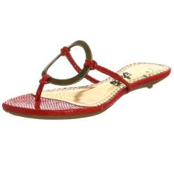 Naughty Monkey Damen Loop De Loop Sandalen, Rot (rot), 39 EU von Naughty Monkey