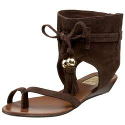 Naughty Monkey Damen On The Fringe Sandalen, Braun (schokoladenbraun), 38 EU von Naughty Monkey