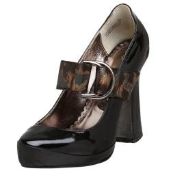Naughty Monkey Say It Ain't So Pumps, Damen, Schwarz (schwarz), 38 EU von Naughty Monkey