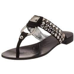 Naughty Monkey Switch Me On Zehensandalen für Damen, Schwarz (schwarz), 41 EU von Naughty Monkey