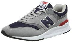 New Balance Herren 997H Core Sneaker, Grau (Team Away Grey/Pigment), 42.5 EU von New Balance
