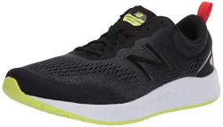 New Balance Herren Fresh Foam Arishi v3 Laufschuhe, Schwarz (Black/White/Green), 44.5 EU von New Balance