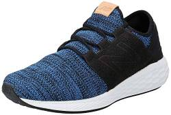 New Balance Herren Fresh Foam Cruz v2 MCRUZKR2 Laufschuhe, Blau (Team Royal/Black/White Kr2), 41.5 EU von New Balance