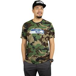 New Era NFL Camo T-Shirt (L, Seattle Seahawks) von New Era