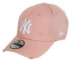 New Era New York Yankees 9forty Adjustable Cap Distressed Seasonal Pink - Einheitsgröße von New Era