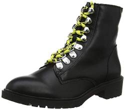 New Look Damen 5901131 Biker Boots, Schwarz 1, 38 EU von New Look