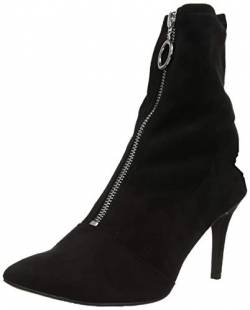 New Look Damen Circle Kurzschaft Stiefel, Schwarz (Black 1), 41 EU von New Look