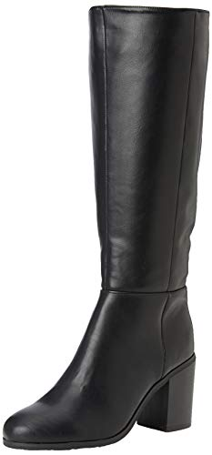 New Look Damen Dapper Hohe Stiefel, Schwarz (Black 1), 38 EU von New Look