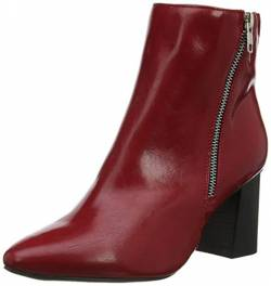 New Look Damen Wide Foot Ani Kurzschaft Stiefel, Rot (Bright Red 60), 36 EU von New Look