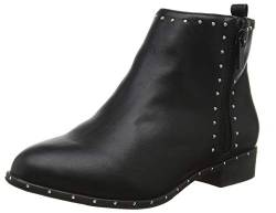 New Look Damen Wide Foot Bonnie Kurzschaft Stiefel, Schwarz (Black 1), 36 EU von New Look