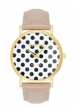 New Trend - Love for Accessories Damen Uhr analog Quarzwerk mit Kunst-Leder-Armband H8-TRXO-U88K von New Trend - Love for Accessories