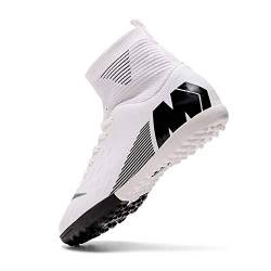 Niber Herren Jungen Turf Cleats Soccer Athletic Football Outdoor Indoor Sports Running Walking Schuhe Soprting Boots, Grn von Niber