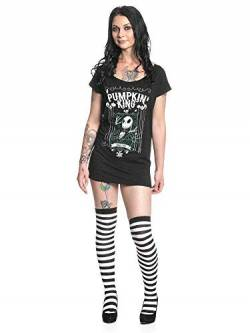 Nightmare before Christmas The Jack Skellington - Pumpkin King Frauen T-Shirt schwarz 5XL von Nightmare before Christmas