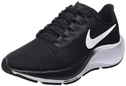 Nike Womens WMNS AIR Zoom Pegasus 37 Running Shoe, Black/White, 38 EU von Nike