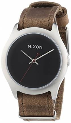 Nixon Damen-Armbanduhr Mod Leather Brown Analog Quarz Leder A428400-00 von Nixon