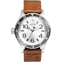 Nixon The 38-20 Leather Herrenuhr in Braun A467-1888 von Nixon
