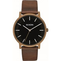 Nixon The Porter Leather Unisexuhr A1058-3053 von Nixon