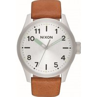 Nixon The Safari Leather Herrenuhr in Braun A975-2853 von Nixon
