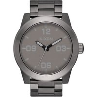 Nixon The Shades Of Grey Collection The Corporal SS Herrenuhr in Schwarz A346-2090 von Nixon
