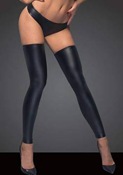 Noir Handmade Powerwetlook Stockings und Panties F163 L von Noir Handmade