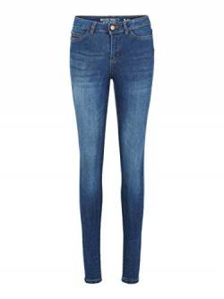Noisy may Female Skinny Fit Jeans NMLUCY Normal Waist 2830Dark Blue Denim von Noisy may