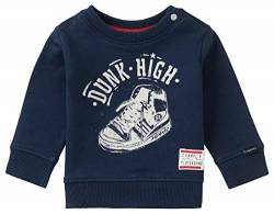 Noppies Baby-Jungen B Sweater LS Pretoria Sweatshirt, Peacoat-P590, 56 von Noppies