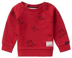 Noppies Baby-Jungen B Sweater LS Springs AOP Sweatshirt, Scarlet Sage-P591, 50 von Noppies