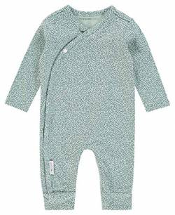 Noppies Baby Kinder Unisex Strampler Wickelmodell Bio-Baumwolle (Grey Mint (C175), 68) von Noppies