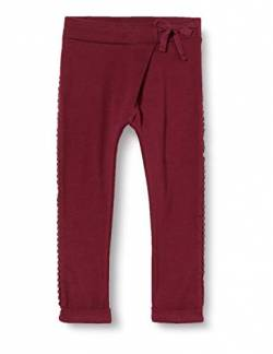 Noppies Baby-Mädchen G Slim Fit Pants Soekmekaar Hose, Burgundy-P217, 74 von Noppies