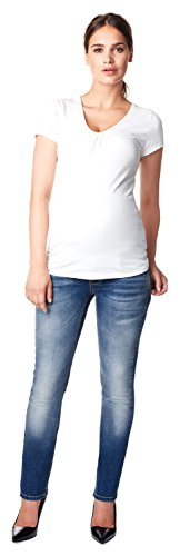 Noppies Umstandsmode Damen Straight Umstandsjeans Karen von Noppies