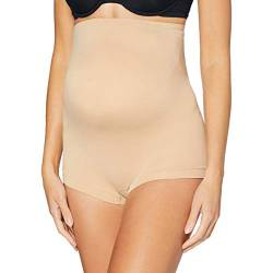 Noppies Damen Seamless Short Taillen-Shapewear, Natural-P653, XXL von Noppies