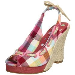 Not Rated Damen Sommer Love Wedge, Pink (Rose), 36 EU von Not Rated