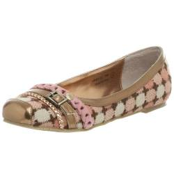Not Rated Damen Triple Play Flat, Pink (Rose), 35.5 EU von Not Rated