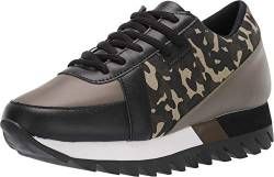 Not Rated Geri Mixed Media Fashion Sneaker, Camo, Size 8.5 von Not Rated