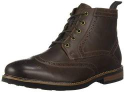 Nunn Bush Men's 84776-215 Odell Wingtip Chukka Boot with KORE, Brown Crazy Horse, 8 Medium von Nunn Bush