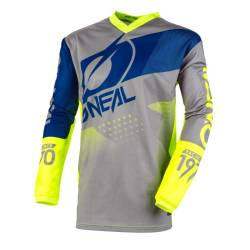 Element Jersey Factor Gray/Blue/neon Yellow L von O'NEAL